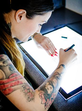Tatoo Thomas tatuering Markaryd