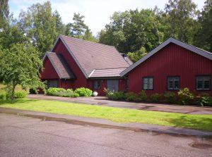 Ett ton fyrverkerier i danskt villakvarter